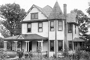 George Austin McHenry House - early 1900s