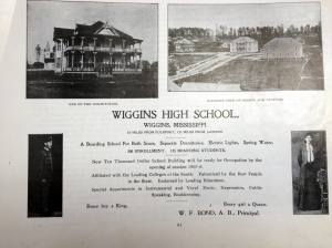Wiggins High School 1905