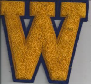 """Wiggins High School """"W"""""""