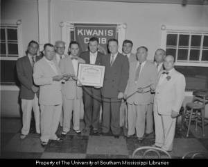 Wiggins Kiwanis Meeting 7-15-1954