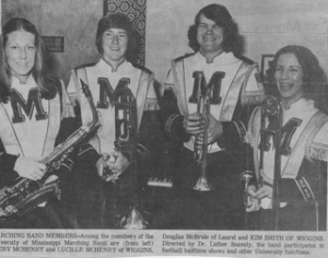 Ole Miss Band 1975-76