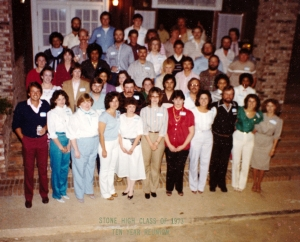 Class of 1973 - 10th Reunion Photo