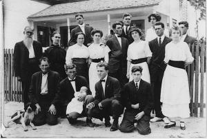 M. H. Breland Family - 1914