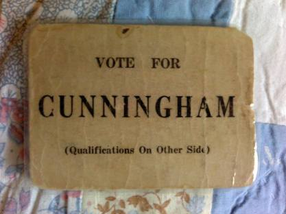 Cunningham Business Card
